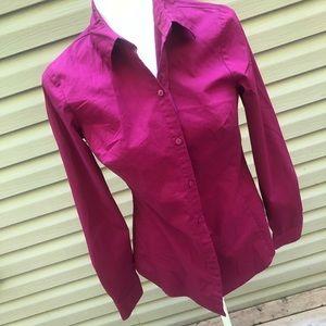 Worthington Dress Shirt Pink Dress Size 4